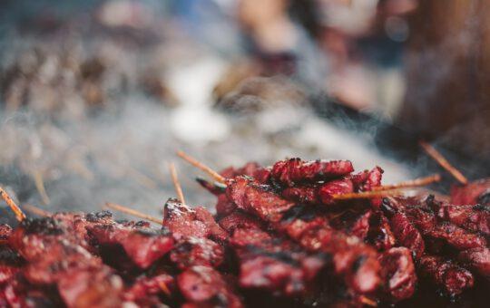 Cortenstaal barbecue